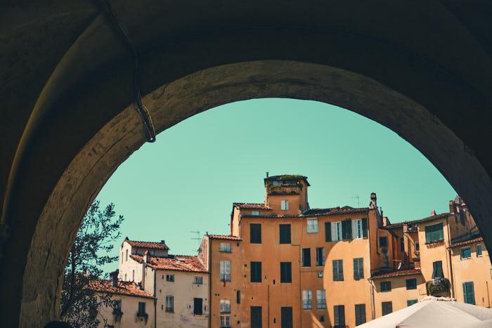 Szene Piazza Anfiteatro