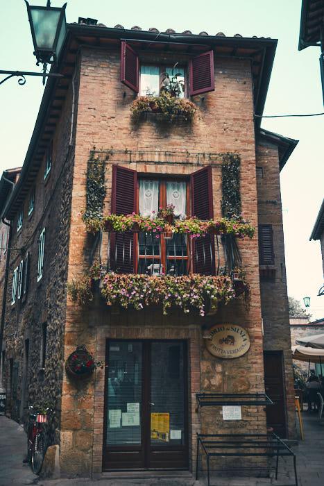 Altstadt Impression Pienza