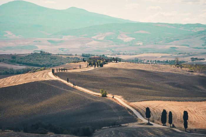 Gladiator Fotopoint Pienza Toskana