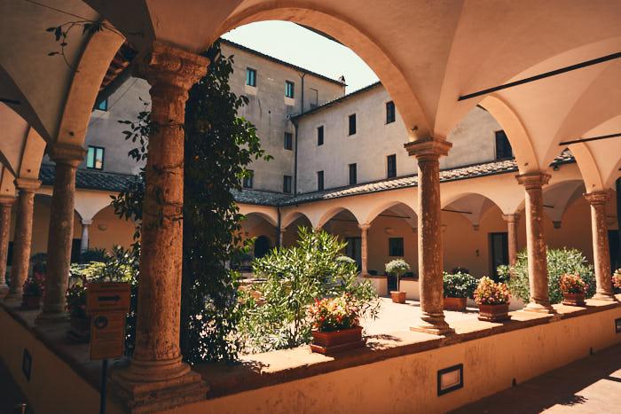 Kloster San Francesco Pienza