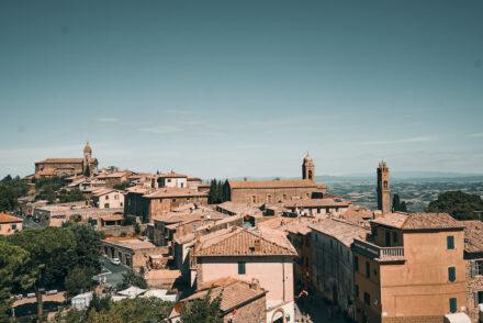 Montalcino Val d'Orcia Toskana Sehenswürdigkeiten Tipps