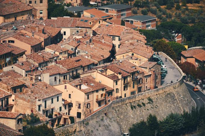 Montepulciano von oben