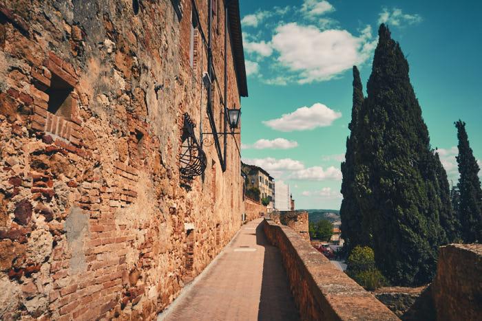 Panoramaweg Camminata Panoramica Toskana