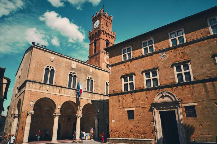 Rathaus Pienza